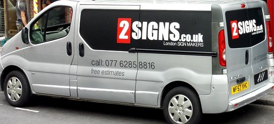 Vehicle Signwriting London Decals And Van Signs 2signs