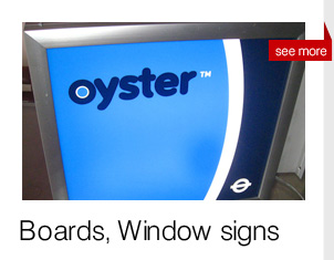 window graphics, boards